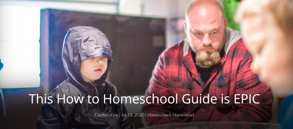 Homeschool Guide Chelsea Day